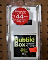 Bubble Box Portable Air Pump in Fort Polk, Louisiana