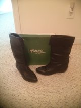 Pimento Black Leather Boots in Camp Lejeune, North Carolina