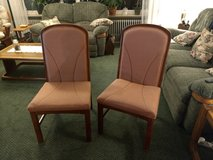 Two cushioned chairs in Baumholder, GE