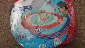 Baby spring pool float w canopy in DeKalb, Illinois