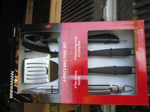 BRINKMANN 4 PIECE BBQ SET in Joliet, Illinois