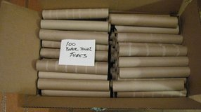 100 Paper Towel Cardboard Tubes - Rolls - Arts Crafts School Church Scouts Projects in Bartlett, Illinois