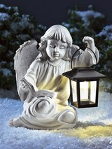 Angel with Solar Lantern in Ramstein, Germany