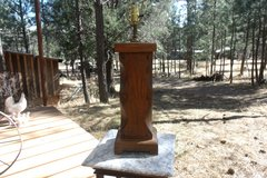 Vintage Wooden Lamp in Alamogordo, New Mexico