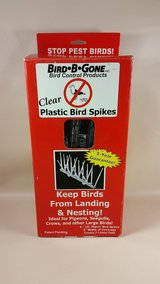 Bird B Gone 6 foot plastic spikes pest control pigeons crows ( 3 boxes ) in Vista, California