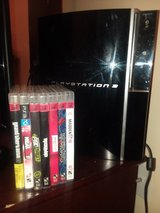 PlayStation 3 with games in Quantico, Virginia