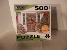 "500 pc. puzzle  ""Holiday Door"" in Chicago, Illinois"