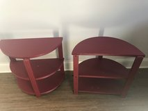 Pair of end tables/nightstands in Schaumburg, Illinois