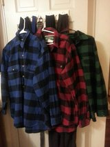 3 FIELD AND STREAM long sleeved shirt flannel shirts in Cherry Point, North Carolina