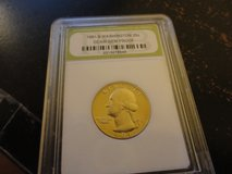 1981 s washington quarter DC  proof in Fort Campbell, Kentucky