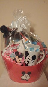 Mickey mouse gift basket in Kankakee, Illinois