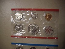 1972 US Mint Uncirculated Coin Set in Ramstein, Germany