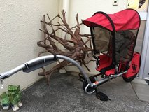 Weehoo, iGo Pro Bicycle Bike Trailer with Sun & Rain cover. in Okinawa, Japan