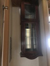 Curio Cabinet with light in Fort Carson, Colorado