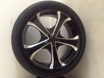 Rims-4 KMC Wheels and Tires in Fort Lee, Virginia