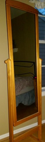 Mirror – Full Length – Nice Wood Frame in Kingwood, Texas
