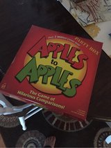 Apples to Apples Game in Baumholder, GE