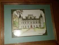 Inveraray Castle Picture and Frame - Scotland in Kingwood, Texas