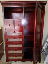 Cherry wood Armoire in Perry, Georgia