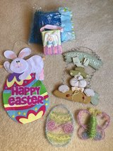 6 Piece EASTER Decor in Shorewood, Illinois