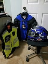 New Helmet, Joe Rocket Ballistic Jacket and ICON mesh vest in Warner Robins, Georgia