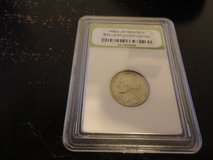 1964 d jefferson nickel slabbed BU interested text 931 218 8243 in Fort Campbell, Kentucky