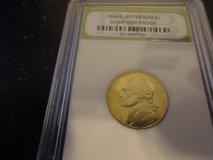 1994 s jefferson nickel slabbed  gem proof  interested text 931 218 8243 in Fort Campbell, Kentucky