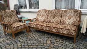Couch and chair in Grafenwoehr, GE