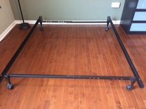 Full Size Metal Bed Frame in Wheaton, Illinois