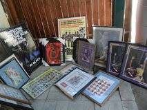 MOVING SALE HUGE 27 FRAMED SPORTS  CARDS POSTERS & COLLECTIBLES LOT JORDAN + in Camp Pendleton, California