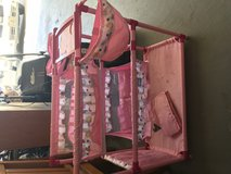 Doll bassinet/ highchair in Vacaville, California