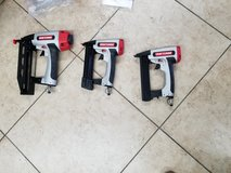 3 new Craftsman nail guns in carrying case in 29 Palms, California