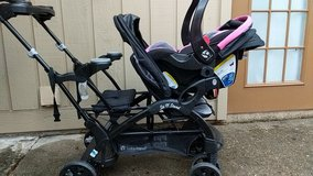 baby sit n stand double stroller in Houston, Texas
