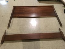 Full Maple Headboard and Footboard in Westmont, Illinois