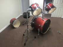 Entire drum set in Sugar Grove, Illinois