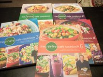 Revive Cafe' Cook Books Set of 5 in Columbus, Georgia