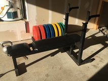 ADJUSTABLE BENCH PRESS in Oceanside, California
