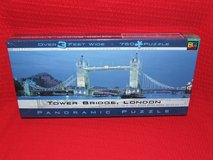 London Tower Bridge Panoramic Puzzle 3 Feet Wide ~ New in Oswego, Illinois