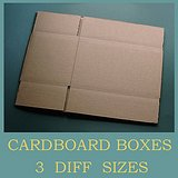 UNUSED BROWN STORAGE SHIPPING MOVING BOXES, 3 sizes in Glendale Heights, Illinois