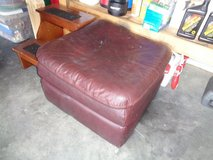 Ottoman made leather original in Fort Rucker, Alabama