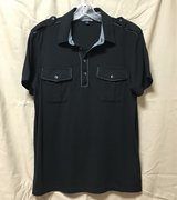 Express Mens Military Black Polo Size M New in Okinawa, Japan