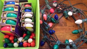 REDUCED Xmas Lights & Bulbs in 29 Palms, California