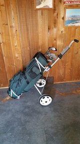 Vulcan Golf Clubs w/ Bag & Pull Cart-Reduced again in Naperville, Illinois