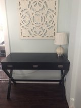 Desk, black stain finish in Chicago, Illinois