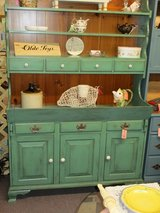 Vintage Painted Open Top Country Hutch in Camp Lejeune, North Carolina