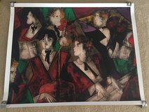 "New ""Grand ORCHESTRE"" Seriolithograph by Linda Le Kinff in Naperville, Illinois"