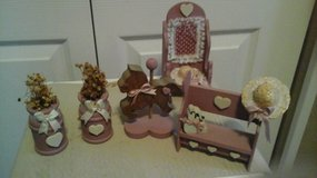 Wooden Doll House Furniture Items in Bolingbrook, Illinois
