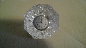 Waterford Crystal  Paperweight  Clock Diamond Cut Shaped in Lockport, Illinois