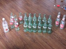 Vintage Coca Cola bottles in Beaufort, South Carolina