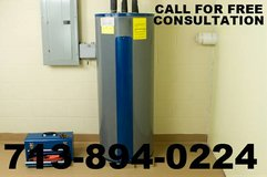 PROFESSIONAL PLUMBING SERVICES- WATER HEATER INSTALL in Bellaire, Texas